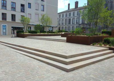Place Saint-Remy à Lunéville
