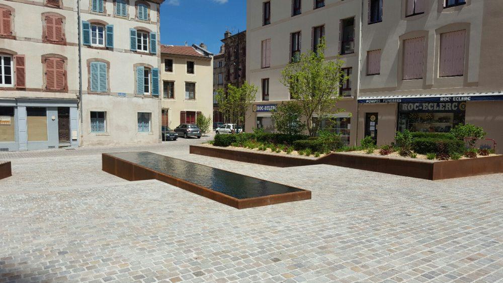 Création d'aménagement extérieur à Nancy